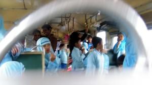 Suasana di Kereta