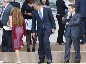 Obama Melirik Pantat